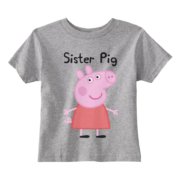 Sister Pig Toddler T-shirt tee
