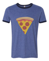 Slice of Pizza | Ringer Unisex T-shirt / tee