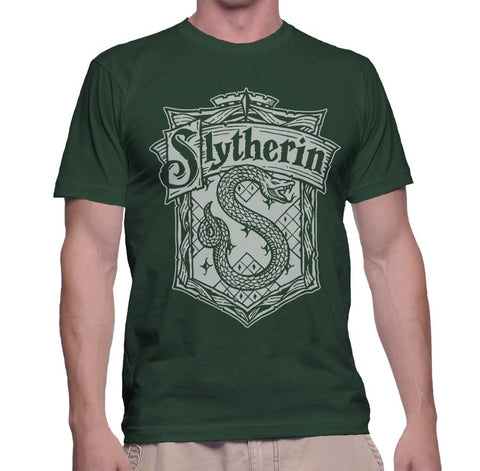 Slytherin #2 B/W Men T-shirt PA Crest