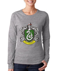 Slytherin #1 Color Team Long sleeve T-shirt for Women PA Crest