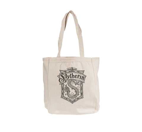 Slytherin Crest #2 Bw Tote bag BE008 12 OZ
