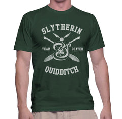 Customize - New Slytherin BEATER Quidditch Team Men T-shirt