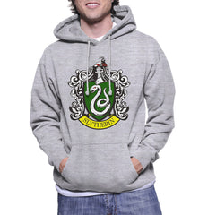 Slytherin #1 Crest Unisex Pullover Hoodie PA Crest
