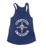Sons Of Shirohige Triblend Racerback Women Tank Top