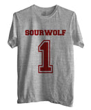 Sourwolf 1 on Front Beacon Hills Lacrosse Teen Wolf Men T-shirt - Meh. Geek - 2