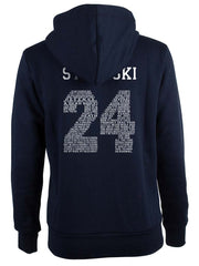 Stilinski 24 Quote on BACK Beacon hills lacrosse Pullover Hoodie - Meh. Geek