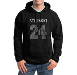 Stilinski 24 Quote on FRONT Beacon hills lacrosse Pullover Hoodie - Meh. Geek