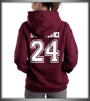 STILINSKI 24 On BACK Beacon hills lacrosse On FRONT Stilinski Stiles Teen Wolf Pullover Hoodie - Meh. Geek - 2