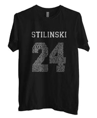 Stilinski 24 Quote on Front Beacon Hills Lacrosse Teen Wolf Men T-shirt - Meh. Geek - 1