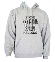 Stone Chamber Prisoner Goblet Order Prince Hallows Unisex Pullover Hoodie