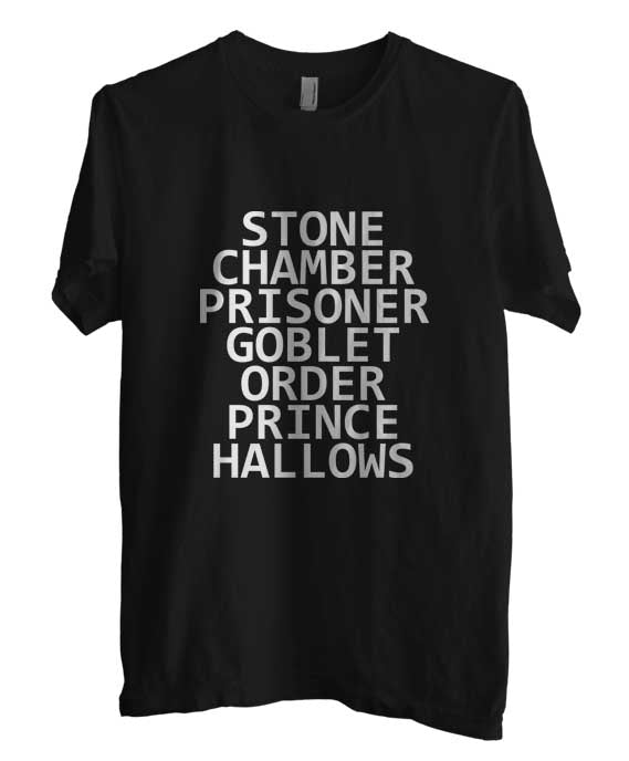 Stone Chamber Prisoner Goblet Order Prince Hallows Men T-shirt - Meh. Geek - 2