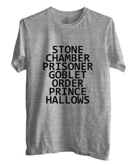 Stone Chamber Prisoner Goblet Order Prince Hallows Men T-shirt - Meh. Geek - 3