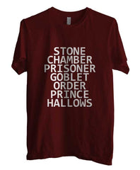 Stone Chamber Prisoner Goblet Order Prince Hallows Men T-shirt - Meh. Geek - 1