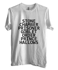 Stone Chamber Prisoner Goblet Order Prince Hallows Men T-shirt - Meh. Geek - 5