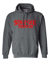 Stranger Things Logo Full Red || Unisex Pullover Hoodie