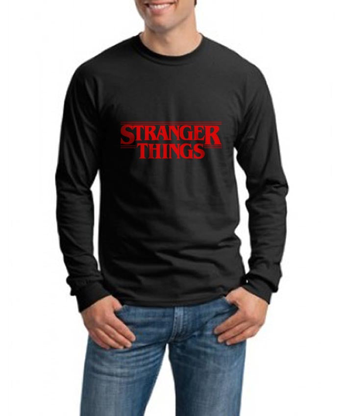 a56b902d 24.50 USD Stranger Things Full Red Long Sleeve T-shirt for Men ...
