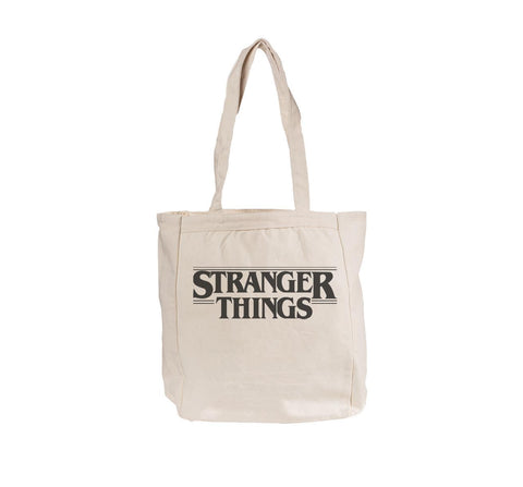 Stranger Things Bw Tote bag BE008 12 OZ