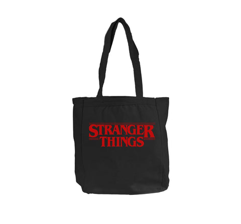 Stranger Things Red Tote bag BE008 12 OZ