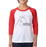 Studio Ghibli Kid / Youth Baseball Raglan 3/4 Sleeve