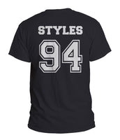 Styles 94 On Back Men T-shirt Tee