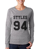 Styles 94 on FRONT Harry Styles Long sleeve T-shirt for Women