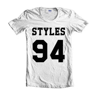 Styles 94 on Front Harry Styles T-shirt Women