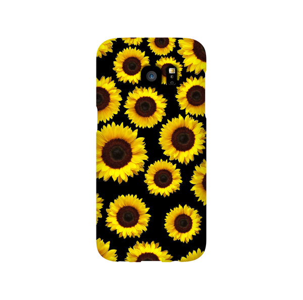Sunflower Seamless Samsung Galaxy Snap or Tough Case