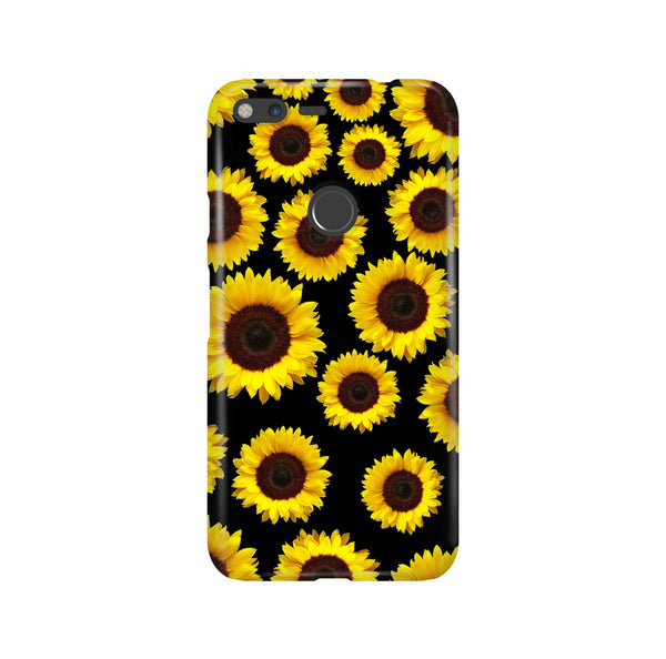 Sunflower Seamless LG and Google Pixel Snap or Tough Phone Case