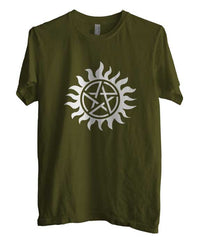 Supernatural Protection Men T-shirt - Meh. Geek - 2