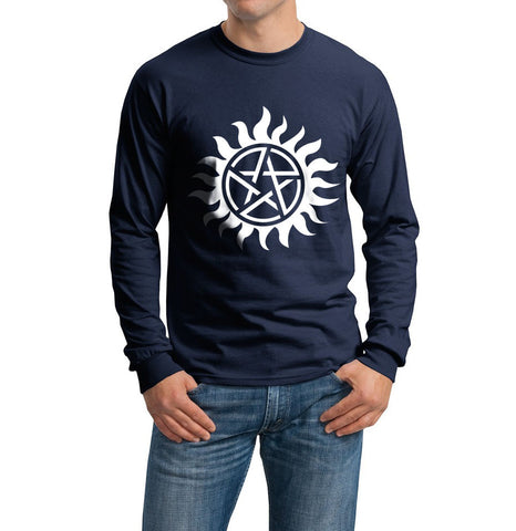Supernatural Sun Long Sleeve T-shirt for Men - Meh. Geek