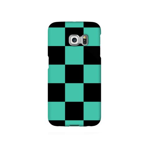 Tanjiro Haori Pattern Samsung Galaxy Snap or Tough Case