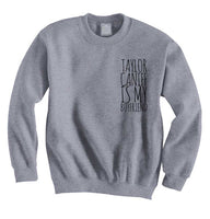Taylor Caniff Is My Boyfriend POCKET Crewneck Sweatshirt - Meh. Geek - 3