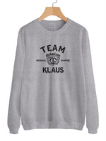 Team Klaus Unisex Crewneck Sweatshirt Adult