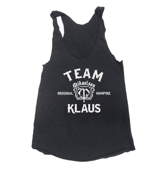 Team Klaus Triblend Racerback Women Tank Top