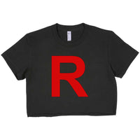 Team Rocket Pokemon Women Crop Top, Crop Tee / T-shirt