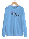 Team Stefan Salvatore Unisex Crewneck Sweatshirt Adult