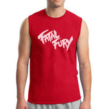 Fatal Fury Sleeveless Men T-shirt / Men Tee