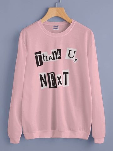 Thank U, Next Pop art Ariana Grande Unisex Crewneck Sweatshirt Adult