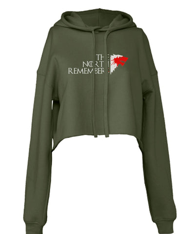 The North Remembers New Cropped Hoodie