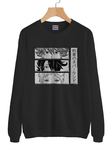 The Promised Neverland HQ Unisex Crewneck Sweatshirt Adult