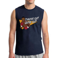 Thuns Out, Guns Out Mike Tyson Sleeveless Men T-shirt / Men Tee