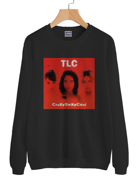 TLC Crazy Sexy Cool Unisex Crewneck Sweatshirt Adult
