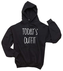 Today`s Outfit OOTD Unisex Pullover Hoodie