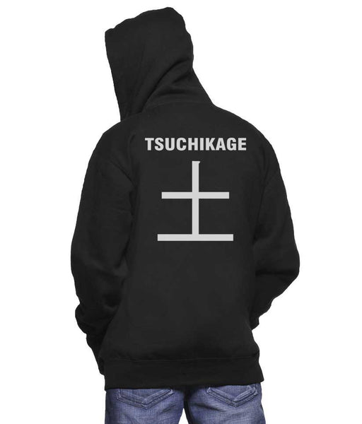 Tsuchikage Symbol On Back Naruto Unisex Pullover Hoodie Adult