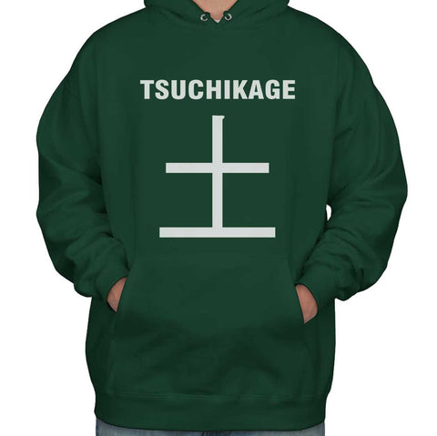 Tsuchikage Symbol On Front Naruto Unisex Pullover Hoodie Adult