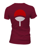 Uchiha On BACK Naruto Women T-shirt