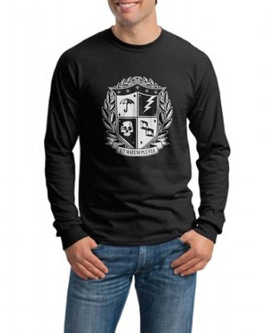 Umbrella Academy Crest Long Sleeve T-shirt for Men