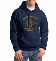 Waterbending University Yellow ink Avatar Waterbender Unisex Pullover Hoodie