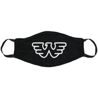 Waylon Jennings Logo Face Mask
