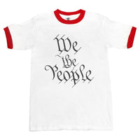 We The People | Ringer Unisex T-shirt / tee